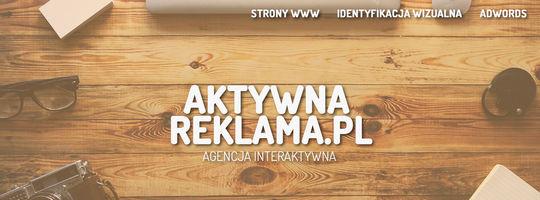 Logo AktywnaReklama.pl - Agencja Reklamowa