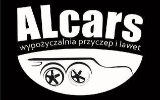 Logo Alcars wypożyczalnia bagażników Wrocław