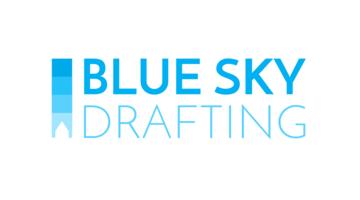 Logo Blue Sky Drafting
