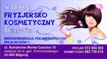 Logo Salon Fryzjersko Kosmetyczny DEJA VU