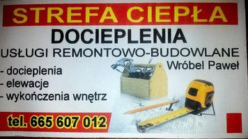 Logo Strefa Ciepła Docieplenia Usługi Remontowo-budowlane