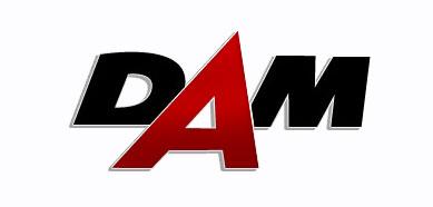 Logo DAM Dealer art. motoryzacyjnych Kazimierz Karpiński