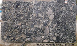 GRANIT Black Mosaic Gold