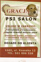 Logo Gracja Psi Salon Aleksandra Osiowa