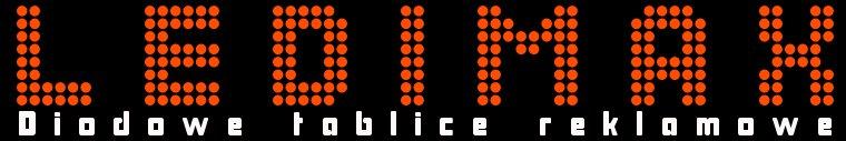 Logo Ledimax-diodowe tablice reklamowe