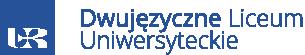 Logo Dwujęzyczne Liceum Uniwersyteckie w Rzeszowie