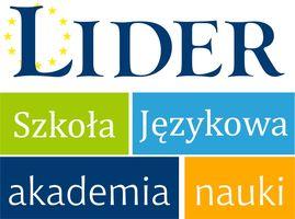 Logo LIDER Centrum Języków Obcych