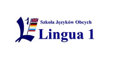 Logo LINGUA1 Szkoła Języków Obcych