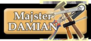 Logo Majster Damian - remonty wnętrz w Krakowie