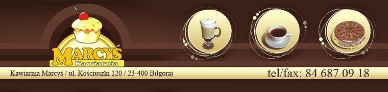 Logo Kawiarnia MARCYŚ