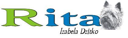 Logo Rita-Salon Pielęgnacyjny Dla Psów i Kotów