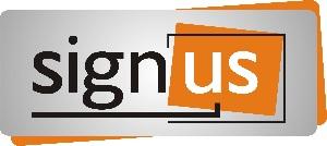 Logo Signus - Kasetony świetlne