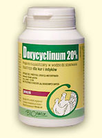 Doxycyclinum 20 %